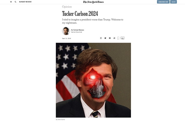The NY Times Is Terrified Of Tucker Carlson 2024