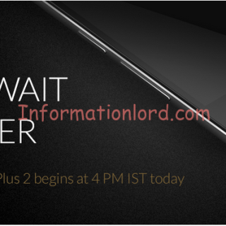 OnePlus 2 Indian Sale Time, Buy OnePlus 2 in India, OnePlus 2 Open Sale India