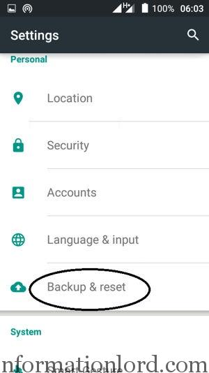 Help to factory reset smartphone data problem fix