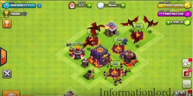 clash of clans modded village