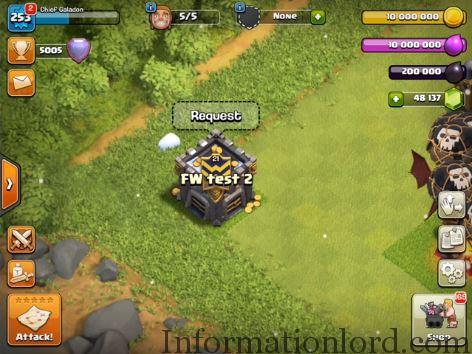 Clan castle upgrade in Clash of Clans update