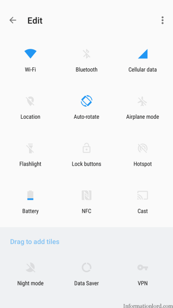 Oxygen OS 4 Notification Settings