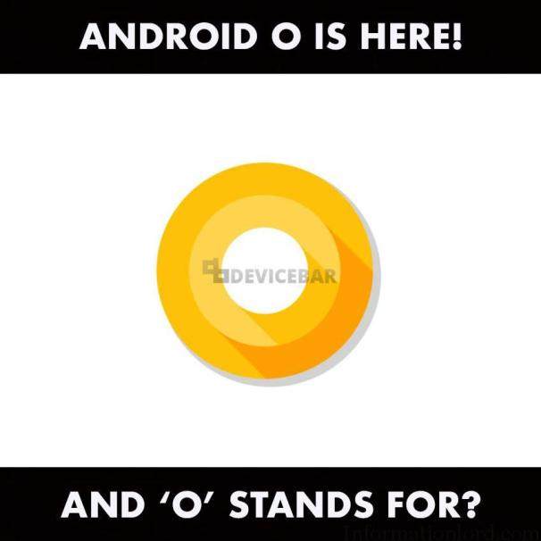 What is meaning of O in Android O
