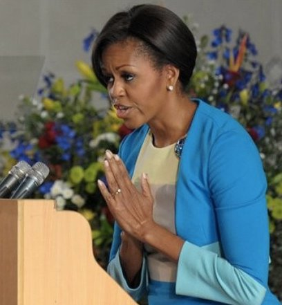 """Michelle Obama - Michelle Obama """"roasted"""" for her analogy of Living in America under Trump"""