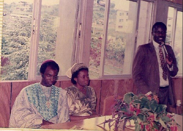 Bishop David Oyedepo, Pastor Mrs Faith Oyedepo and Bishop Francis Wale Oke, back in the days
