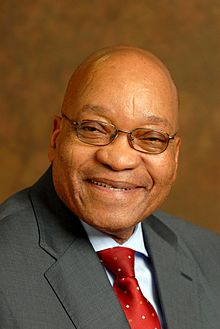President Jacob Zuma Of South Africa
