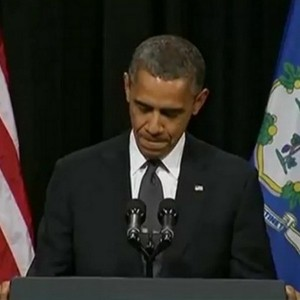 President in a pensive mood