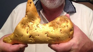 A 5.5kg gold nugget