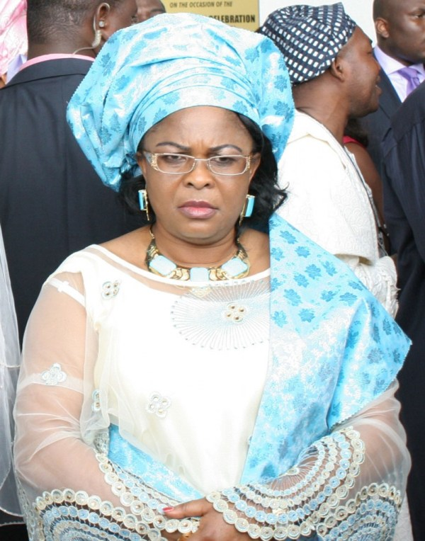 patience jonathan angry face - JUST IN: Supreme Court Orders interim forfeiture of Patience Jonathan's $8.4m