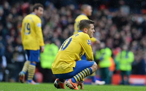 Jack Wilshere Could Be Sidelined for Two Months.