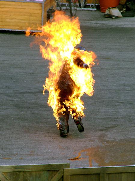 Man-on-fire