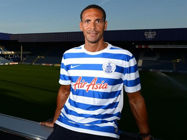 Rio Ferdinand Became QPR's First Signing of Last Summer.