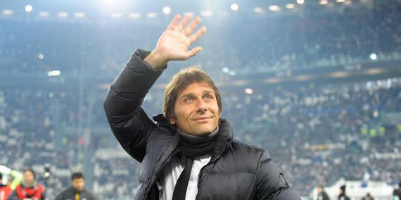 Antonio Conte Was Confirmed Azzurri Coach in August 2014. Image: Getty.
