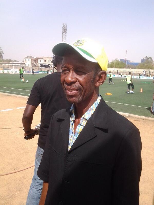 Kano Pillars Coach Felix Okey Emordi Pictured at the Kano Pillars Stadium Before a Glo Premier League Match. Image: LMC.