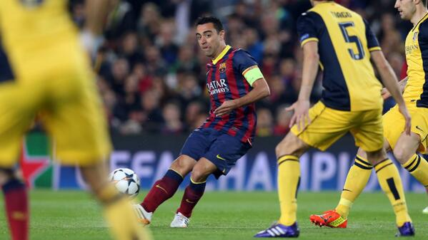 Xavi Retired from International Football on Tuesday, August 5,  2014 to Focus on Barcelona's Quest in the La Liga.