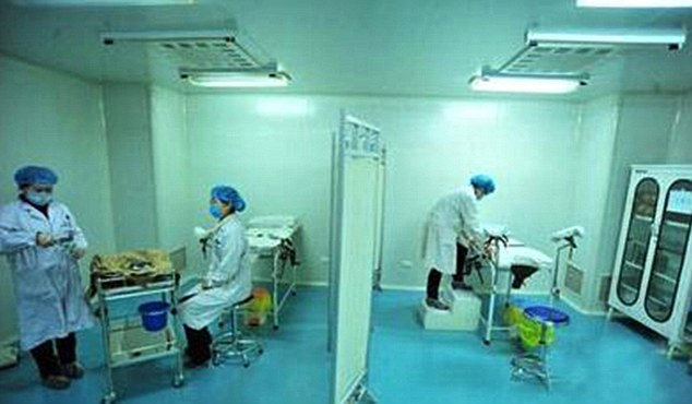 Sperm donation clinics in china