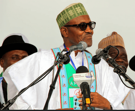 Image result for aggressive campaigns, Says Buhari