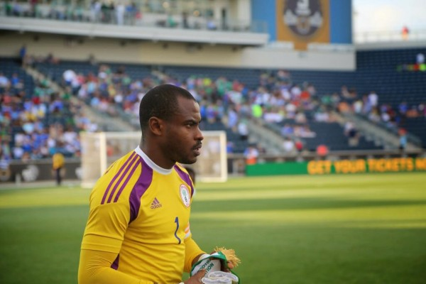 Vincent Enyeama in Contention for the Caf Player of the Year 2014 Award.
