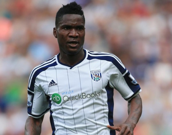 Brown Ideye Could Return Against Aston Villa on Saturday. Image: Getty.