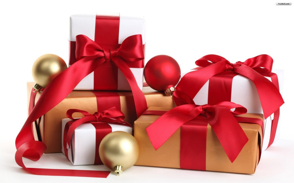 Surprise the people you love with a gift, preferably wrapped.