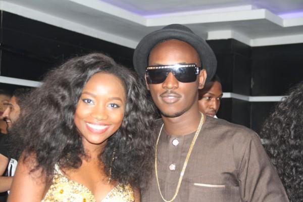 Pix 6(L-R): Winner, Nigerian Idol Season 4, Evelle and Etisalat Brand Ambassador, Dammy Krane, at the Etisalat sponsored Nigerian Idol Season 5 media launch, held in Ikoyi, Lagos, yesterday.