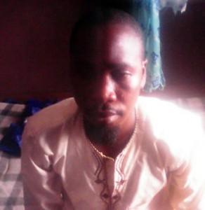 The suspect, Rabiu Abdulquadri