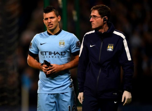 Sergio Aguero was Sidelined go Over a Month Last Season Due to a Kne Ligament Injury.
