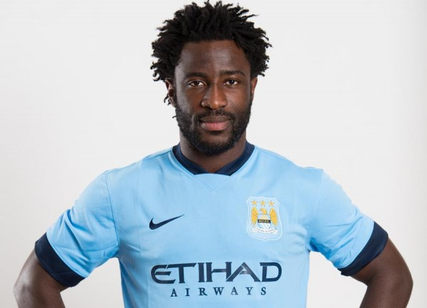 Wilfried Bony Replaces Stevan Jovetic in Manchester City's Champions League Squad. Image: Getty.