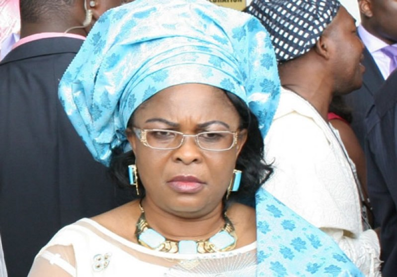 PATIENCE JONATHAN TO EFCC -  THE ALLEGED SLUSH FUNDS ACCOUNTS BELONGS TO MY LATE MUM