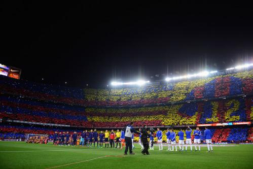 The Camp Nou Could go on a Domestic Recess after This Weekend La Liga game Between Baca and Real Sociedad if the LFP Does Not Back Down On a New TV Broadcast Rights Getty.