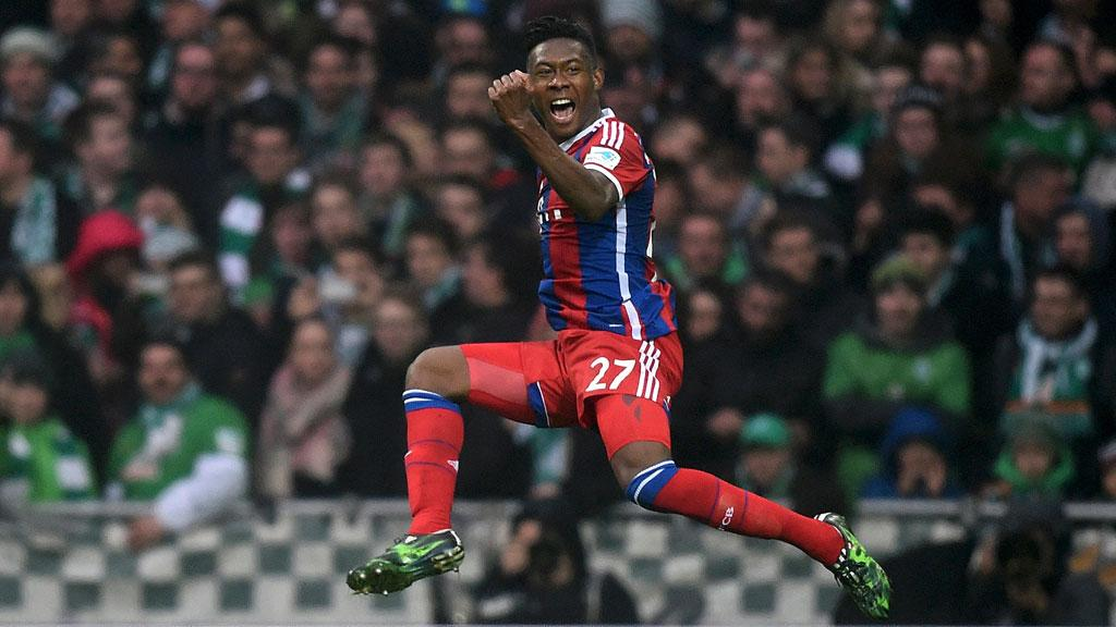 David Alaba Celebrates 20141525 - 'How my refusal to pay bribe stopped me from playing for Nigeria' -David Alaba