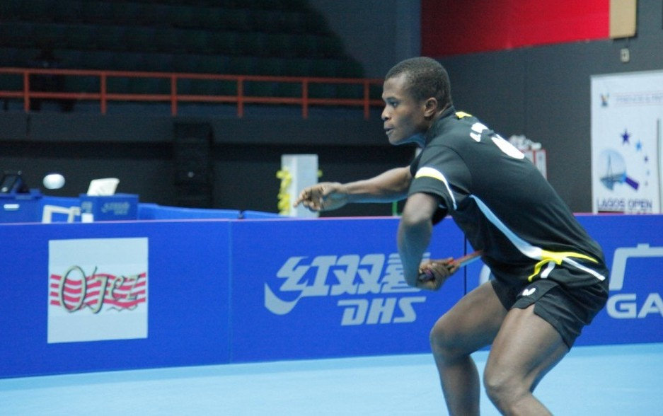 Table tennis ojo onaolapo loses under 21 lagos open title - African table tennis federation ...