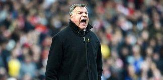 England manager, Sam Allardyce