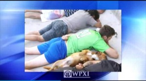 Brazilian-police-order-suspects-to-the-ground-dog-follows-suit