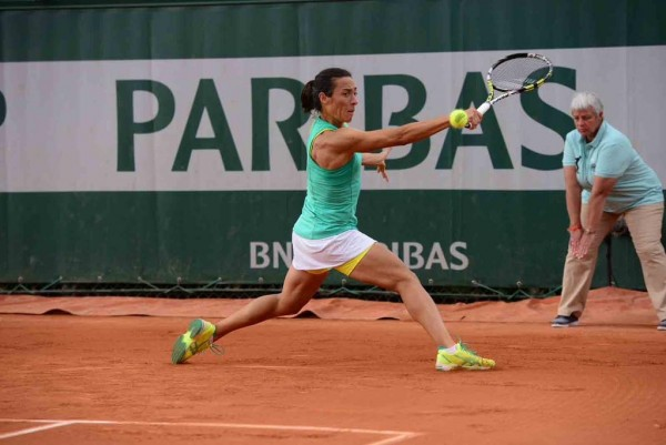 Schiavone-Kuznetsova Second Round Epic in the 2015 French Open is the Third Longest Match in the Tournament's History. Image: Getty.