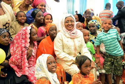 Aisha Buhari-Children