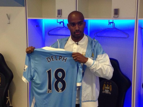 Fabian Delph Joins Manchester City from Aston Villa on a Five-Year Deal. Image: Twitter/MCFC.