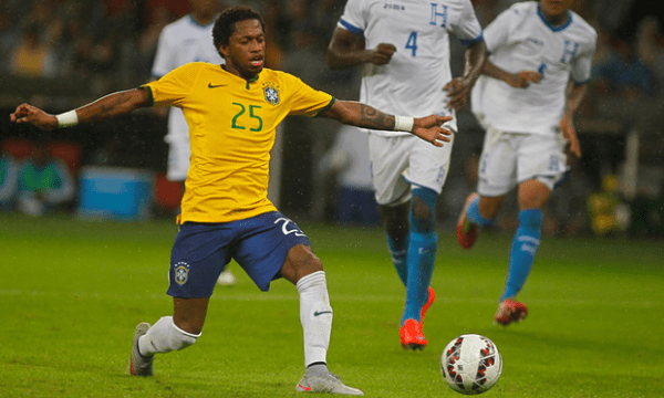 Uefa are Investigating Fred Following Fenerbahce Protest Concerning the Midfielder. Image: AFP.