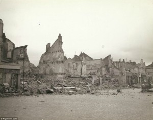 """Decimated: General Palmer wrote on the reverse of this photograph, 'Remains of a friendly little town, that was """"scorched"""""""