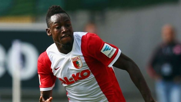 Baba Raman Joins Chelsea from Augsburg. Image: Getty.