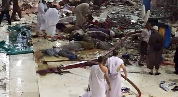 crane accident saudi