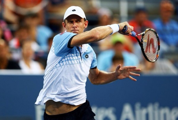 Kevin Anderson Shocks Andy Murray to Reach His First Grand Slam Quarter-Final in the 2015 US Open. Image: Getty via USTA.