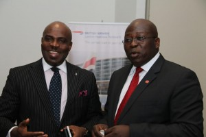 General Manager, Marketing & Corporate Services, Coscharis, Abiona Babarinde and British Airways Regional Commercial Manager, West Africa, Mr Kola Olayinka