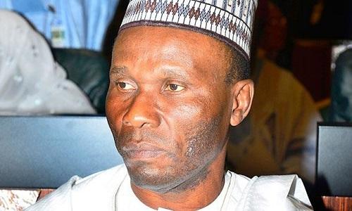 Image result for Minister of Niger Delta Affairs, Mr. Usani Uguru