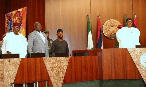 Buhari Cancels Today's FEC Meeting