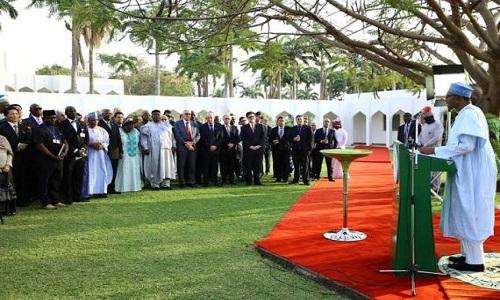 Buhari-Diplomatic Corps