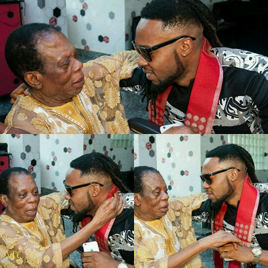 20160419_162842_EZRepost Flavour Shares Photos Of His Parents And Daughter At His Father's Birthday