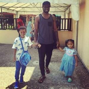 Peter-Okoye-and-kids-Cameron-and-Aliona