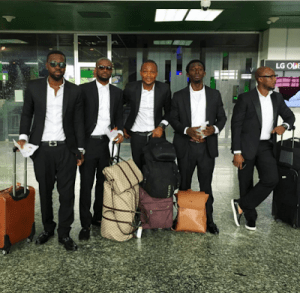 Peter-Okoye-new-manager-Olatunde-Micheals-and-crew-head-to-Dubai-for-solo-performance
