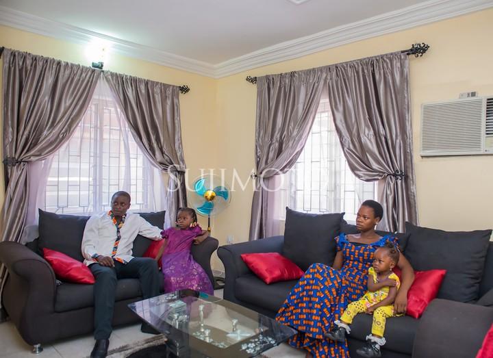 Photos Olajumoke Orisaguna Moves Into Her 5 Years Rent Free Apartment Information Nigeria